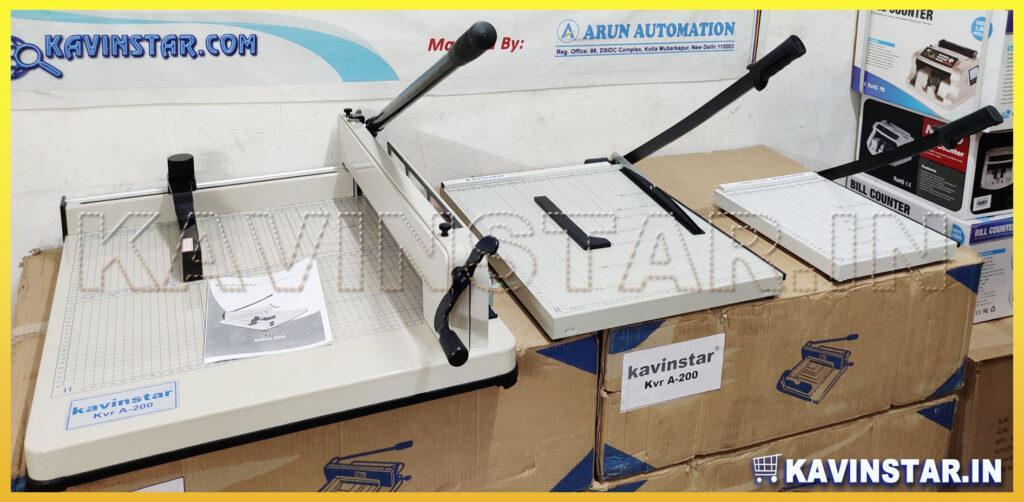 MANUAL PAPER CUTTING MACHINES